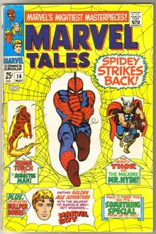 Marvel Tales #14 comic book fine 6.0