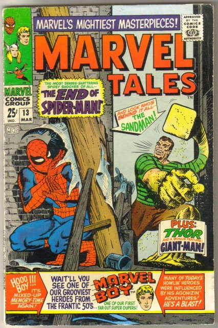 Marvel Tales #13 comic book fine/very fine 7.0