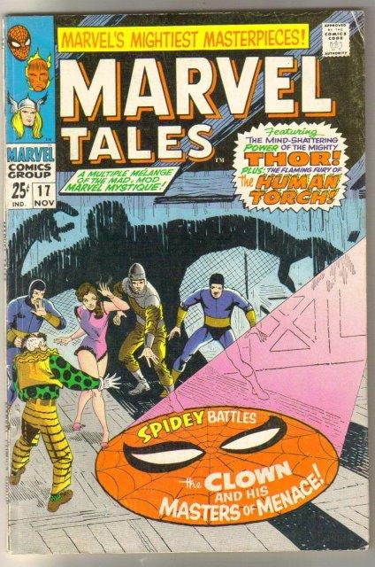 Marvel Tales #17 comic book fine/very fine 7.0