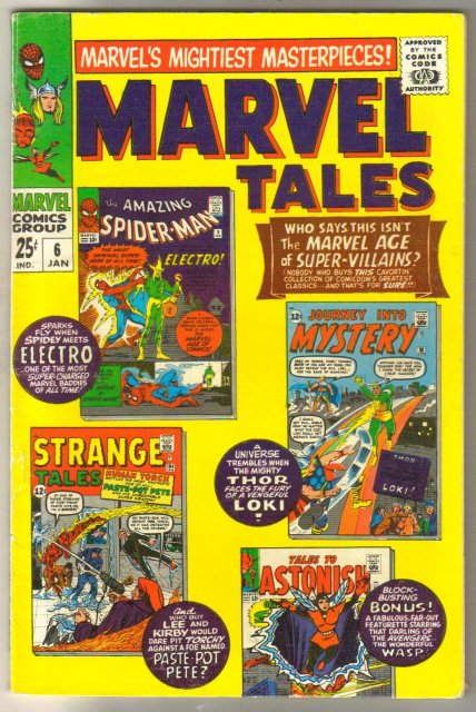 Marvel Tales #6 comic book fine/very fine 7.0