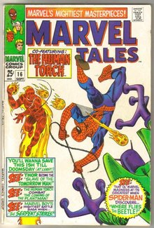 Marvel Tales #16 comic book very fine 8.0