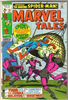 Marvel Tales #24 comic book very fine/near mint 9.0