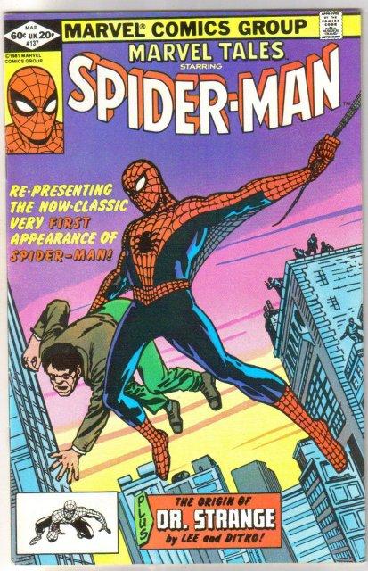 Marvel Tales #137 comic book near mint 9.4