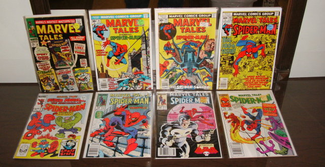 Marvel Tales 8  issue comic book collection