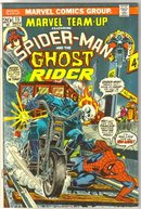 Marvel Team-up #15 featuring Spider-man and Ghost Rider comic book fine/very fine 7.00