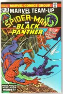 Marvel Team-up #20 featuring Spider-man and the Black Panther comic book near mint 9.4