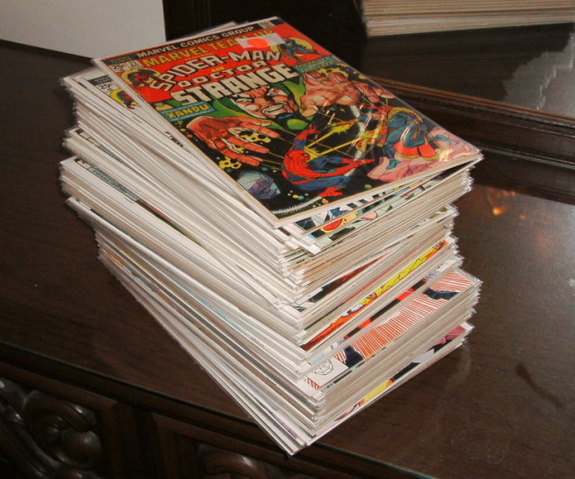 Marvel Team-up collection of 64 different comic books