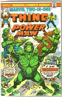 Marvel Two-In-One #13 featuring The Thing and Power Man comic book very fine 8.0