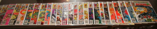 Micronauts collection of 25 comic books all near mint or better