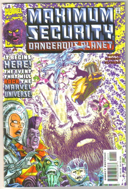 Maximum Security Dangerous Planet #1 comic book mint 9.8