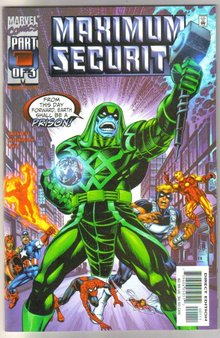 Maximum Security #1 comic book mint 9.8