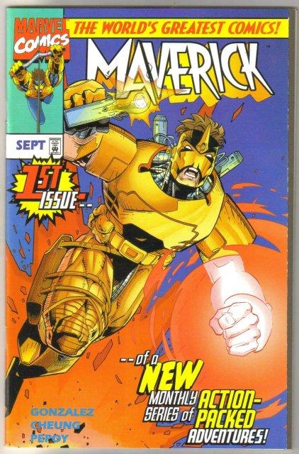 Maverick (1997) #1 comic book mint 9.8