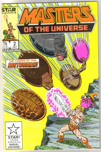 Masters of the Universe #2 original series comic book mint 9.8
