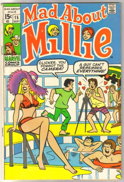 Mad About Millie #15 comic book fine/very fine 7.0