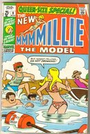 Millie the Model Queen-size Special #9 comic book very good/fine 5.0
