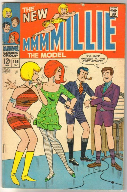 Millie the Model #156 comic book fine 6.0