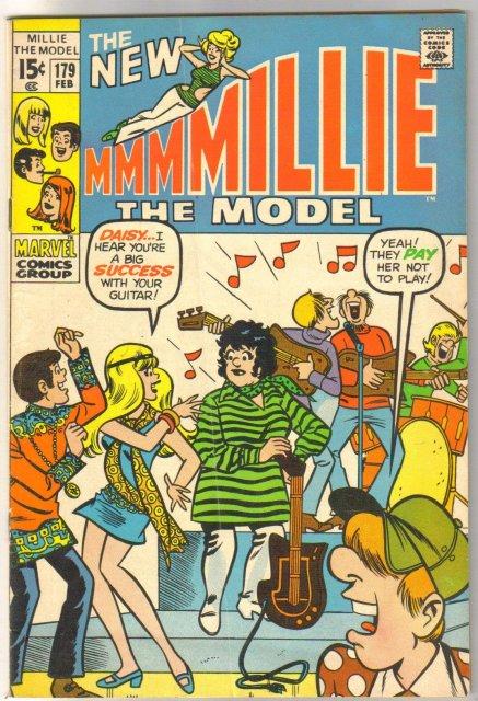 Millie the Model #179 comic book fine 6.0