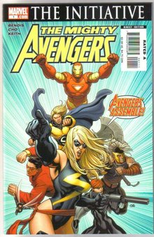 The Mighty Avengers #1 comic book mint 9.8