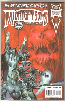 Midnight Sons Unlimited #4 comic book near mint 9.4