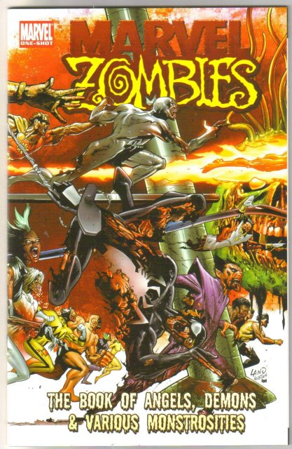 Marvel Zombies The Book of angels, demons, & various monstrosities mint 9.8