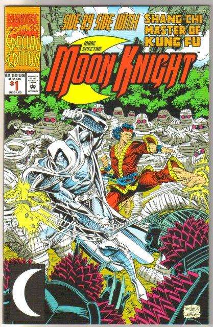Marc Spector: Moon Knight #1 comic book mint 9.8