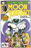 Moon Knight #1 (original series) comic book near mint 9.4