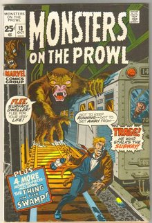 Monsters on the Prowl #13 comic book fine 6.0