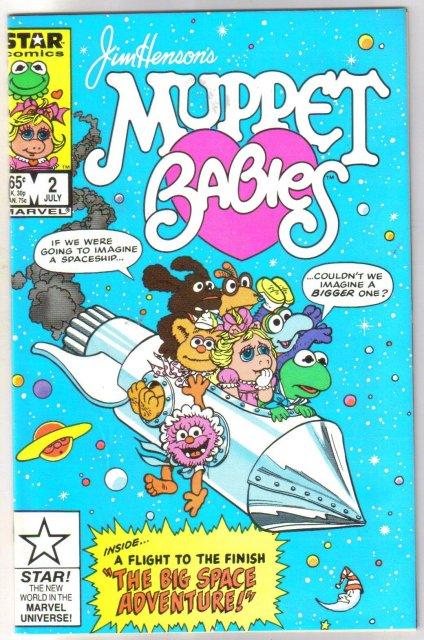 Jim Henson's Muppet Babies #2 comic book mint 9.8