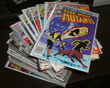 The New Mutants original series comic book collection of 83 different averaging mint 9.8 condition