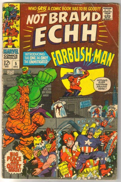 Not Brand Echh #5 comic book very good 4.0