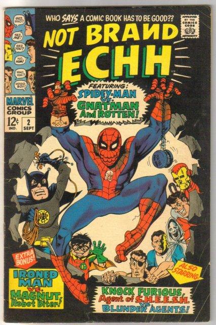 Not Brand Echh #2 comic book fine 6.0