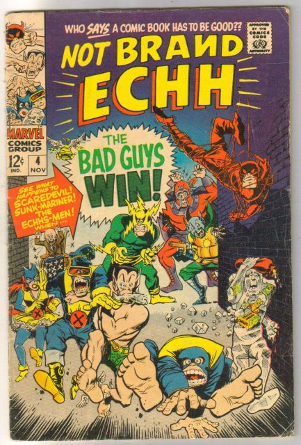 Not Brand Echh #4 comic book fine 6.0