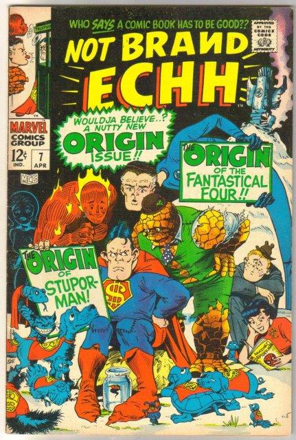 Not Brand Echh #7 comic book very fine 8.0