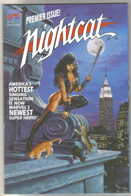 Nightcat #1 Premier issue comic book mint 9.8