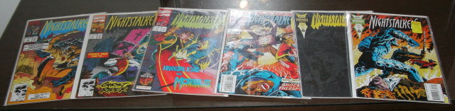 Nightstalkers 6 issue comic book collection mostly mint 9.8