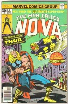 The Man Called Nova #4 comic book very fine/near mint 9.0