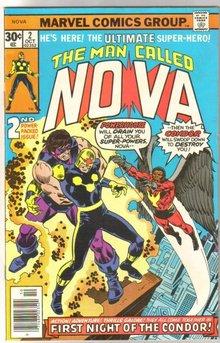 The Man Called Nova #2 comic book very fine/near mint 9.0