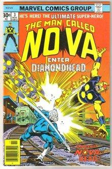 The Man Called Nova #3 comic book near mint 9.4