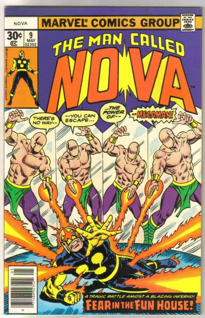 The Man Called Nova #9 comic book mint 9.8