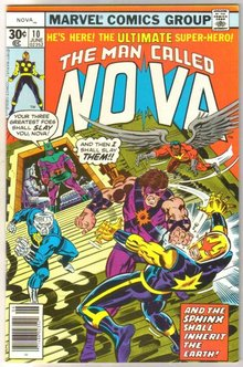 The Man Called Nova #10 comic book mint 9.8