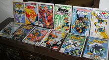 Nova (1994 series) 12 issue comic book collection mostly mint