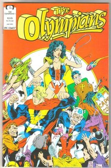 The Olympians #1 comic book mint 9.8