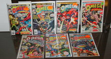 Omega the Unknown  comic book collection of 7 issues