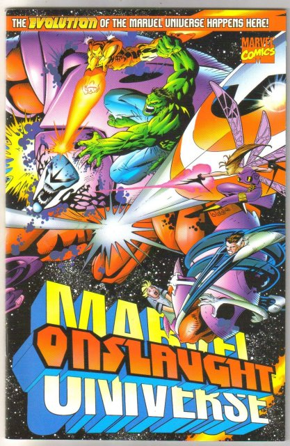 Onslaught Marvel Universe comic book mint 9.8