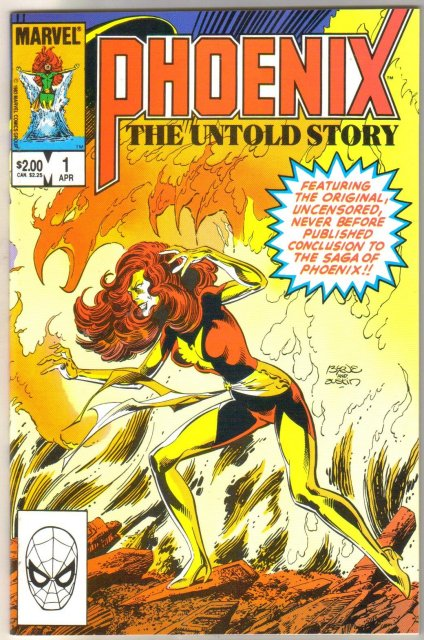 Phoenix the Untold Story #1 comic book mint 9.8