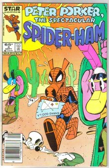 Peter Porker the Spectacular Spider-ham #3 comic book near mint 9.4