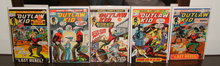 The Outlaw Kid collection of issues 13, 18, 24, 28, and 30