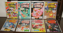 Planet Terry 8 issue  comic book collection of 8