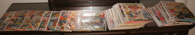 Power Man comic book assortment of 60 different issues