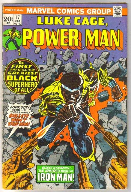 Power Man #17 comic book fine 6.0